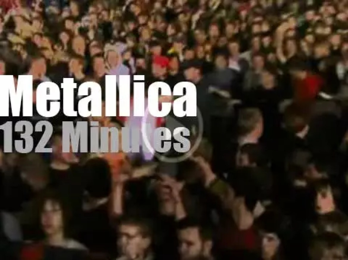 Metallica are back (for the 4th time) at  Rock am Ring (2008)
