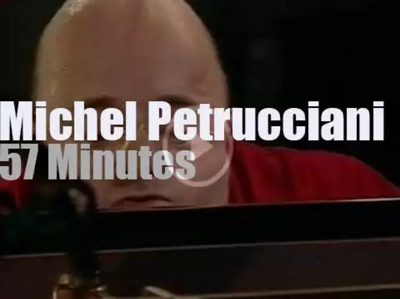 The Michel Petrucciani Trio plays at Jazz Baltica (1996)