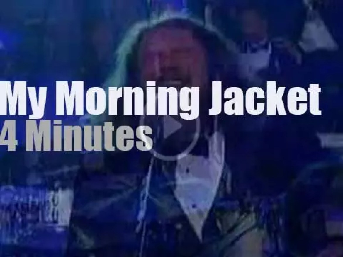 My Morning Jacket plus the  Boston Pops are on Letterman (2006)