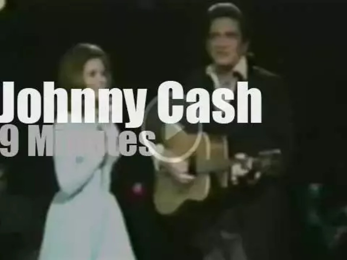"""On TV today, the """"Johnny Cash Show"""" (1969)"""