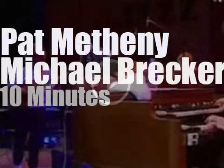 Pat Metheny & Michael Brecker team up in Vienne (2000)