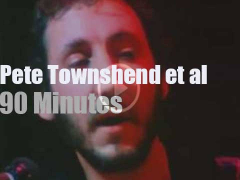 Pete Townshend, John Cleese et al perform for Amnesty International (1979)