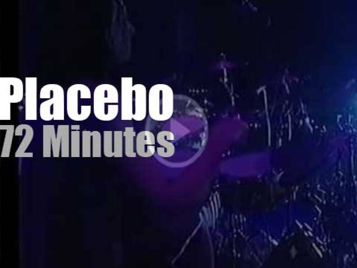 Placebo substitutes at Rock Am Ring (2003)
