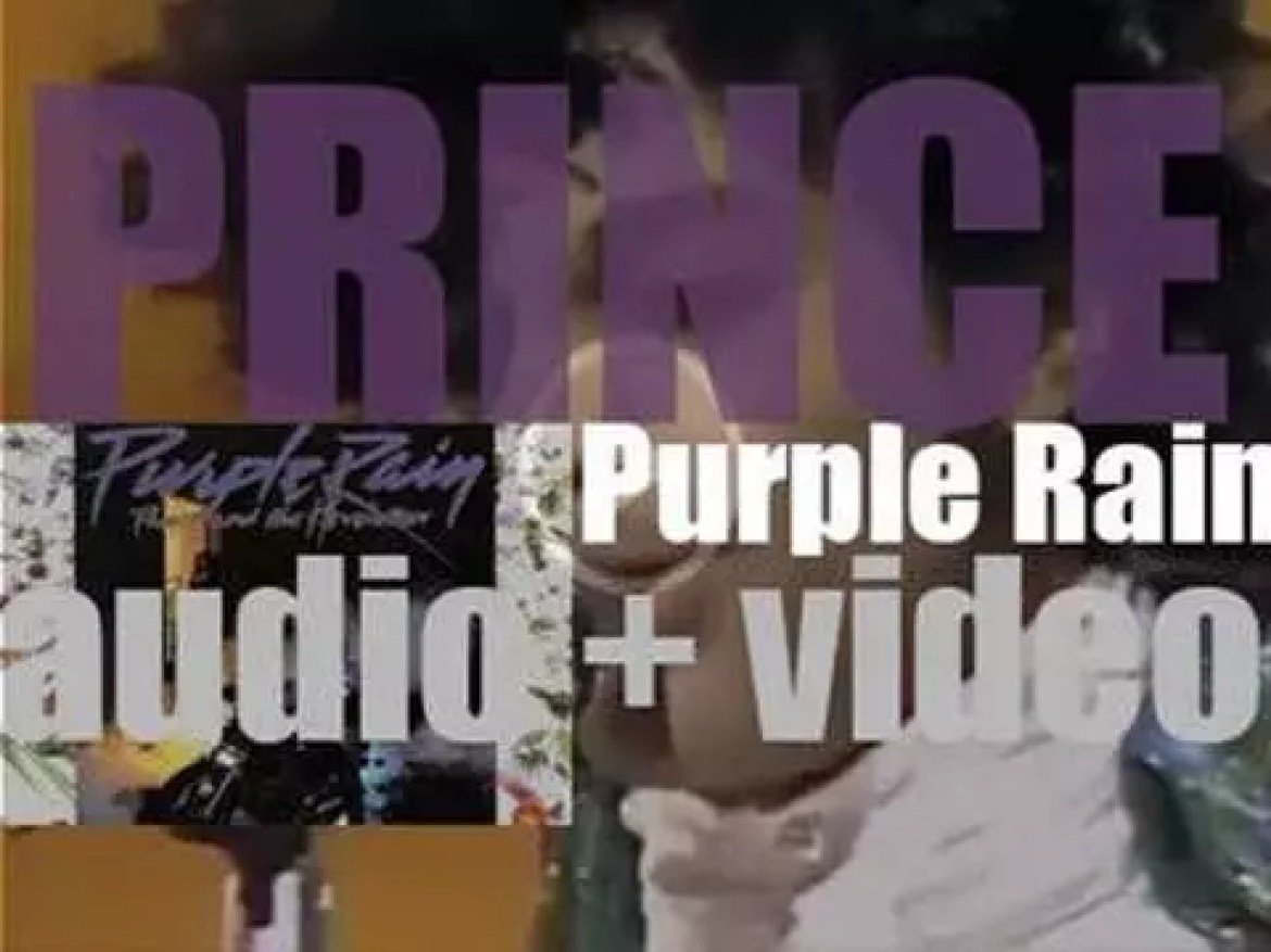 Warner Bros. publish Prince's sixth album : 'Purple Rain' recorded with The Revolution and featuring 'When Doves Cry' and 'Let's Go Crazy' next to the title track  (1984)