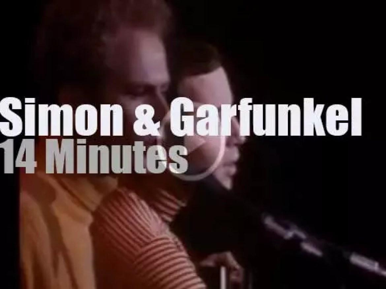 Simon & Garfunkel headline day one of Monterey Pop Festival  (1967)