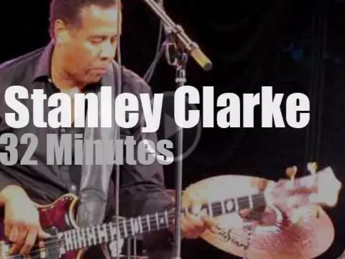The Stanley Clarke Band featuring Hiromi is in Central Park (2010)