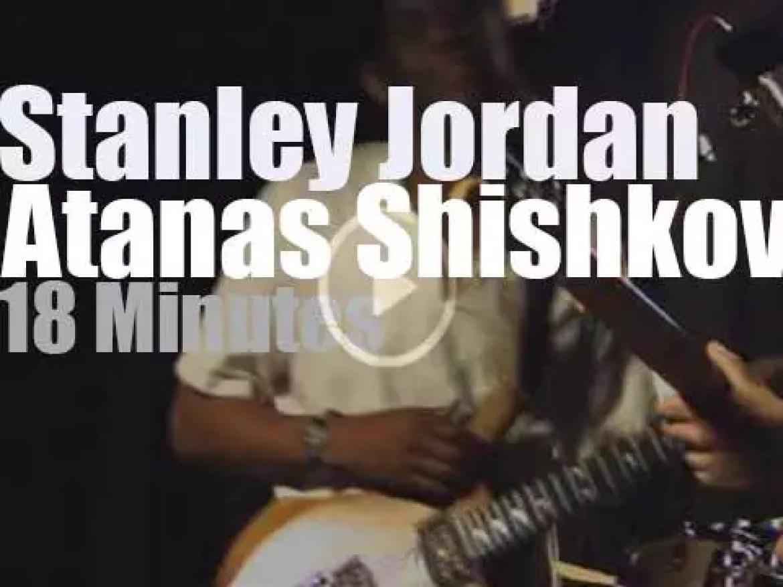 Stanley Jordan & Atanas Shishkov get together in Bulgaria (2012)