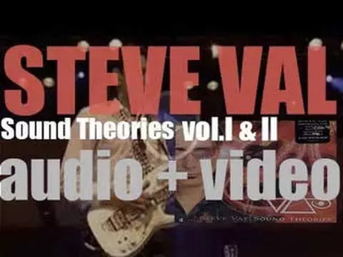 Steve Vai releases 'Sound Theories vol. I & II,' an album recorded  with the Metropole Orchestra in Netherlands (2007)