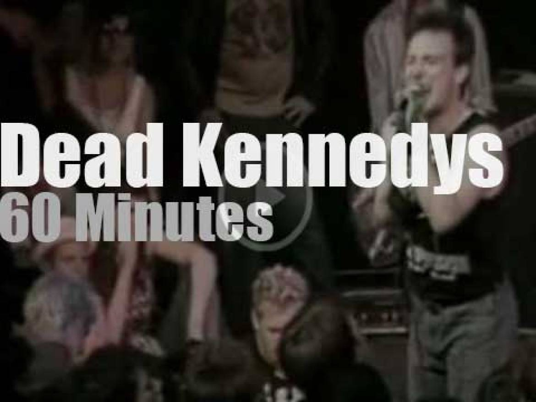 The Dead Kennedys close a club in SF (1984)