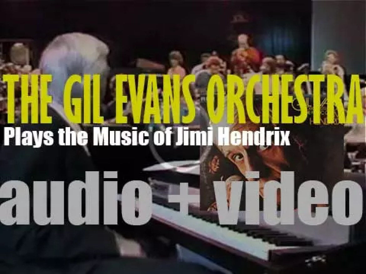 RCA record 'The Gil Evans Orchestra Plays the Music of Jimi Hendrix' (1974)