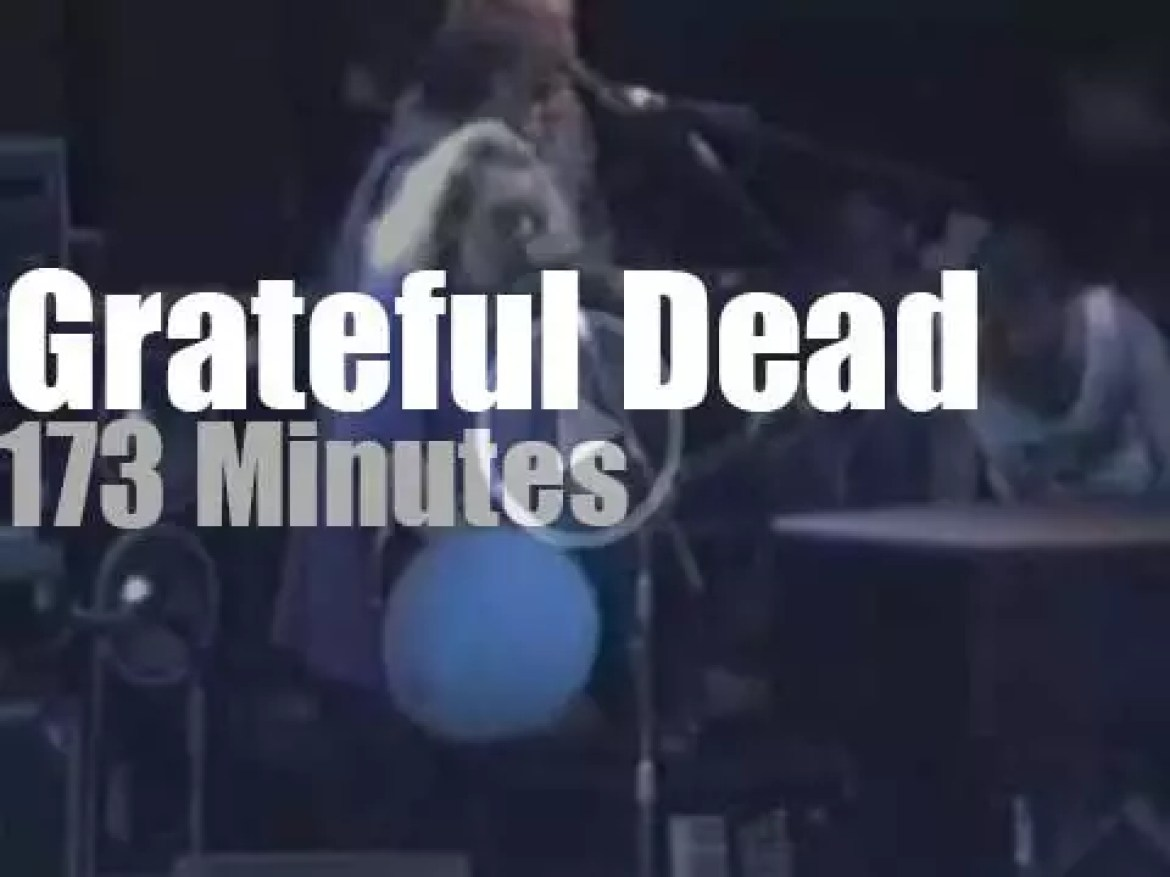 The Grateful Dead plays in DC (1991)