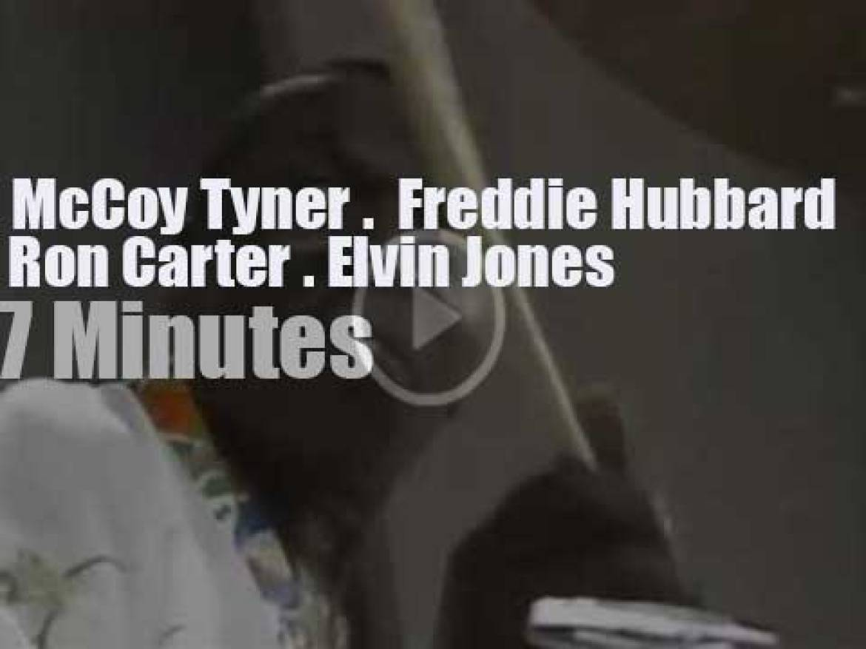 McCoy Tyner, Freddie Hubbard, Ron Carter & Elvin Jones meet at Playboy (1982)