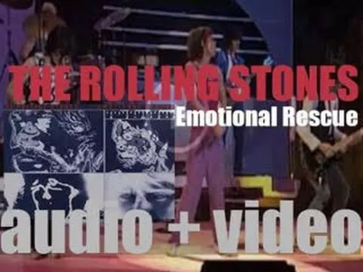 The Rolling Stones release 'Emotional Rescue' featuring 'She's So Cold' (1980)