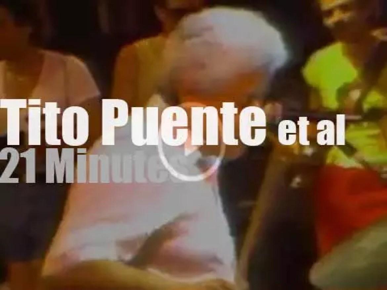 Tito Puente, Carlos Santana et al play by the Hudson (1984)