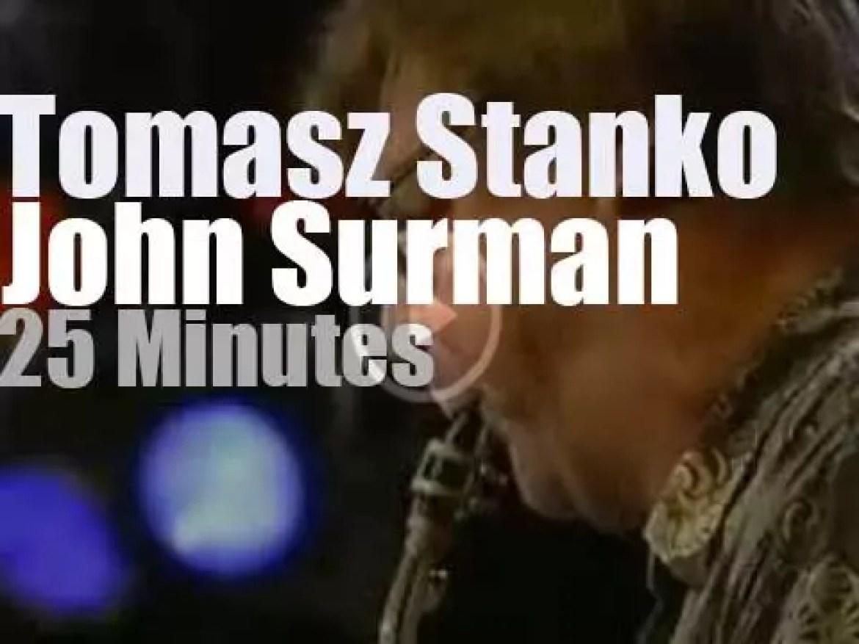 "Tomasz Stanko & John Surman get together at ""JazzBaltica"" (2000)"
