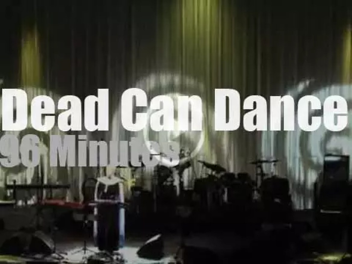 A reunited Dead Can Dance performs in Amsterdam (2013)