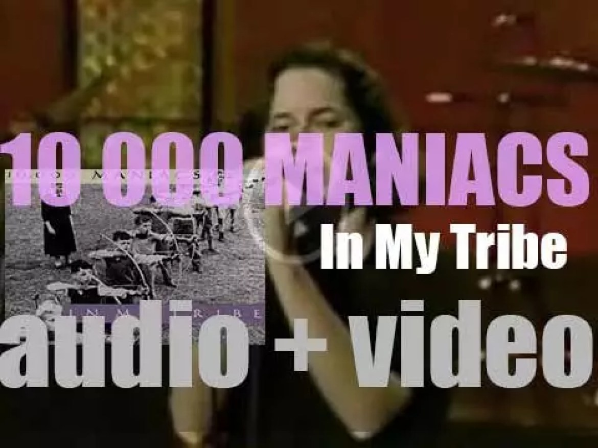 Elektra publish 10,000 Maniacs' second album : 'In My Tribe' mostly written by Natalie Merchant (1987)