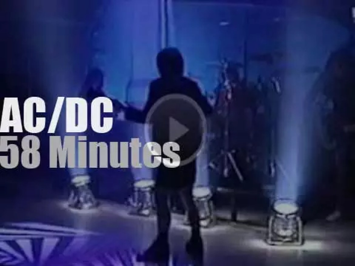 AC/DC tape a VH1 special (1996)