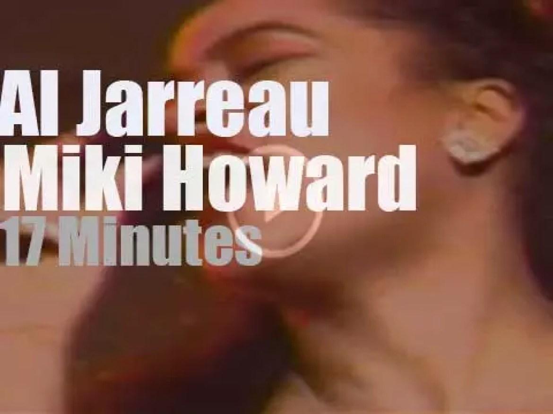 "Al Jarreau & Miki Howard meet ""Under The Sky"" (1990)"