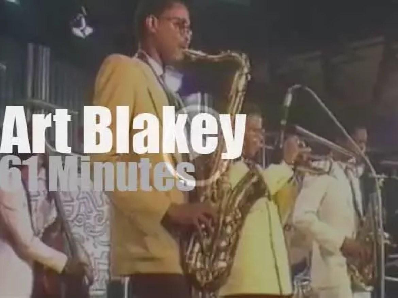 Art Blakey plays at Montreux Jazz (1983)