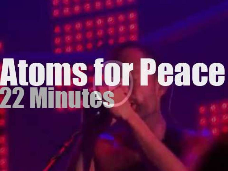 Atoms For Peace pacify Paris (2013)