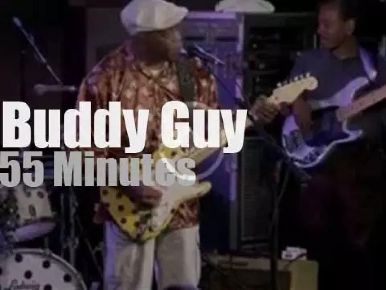 Buddy Guy celebrates his 77th birthday in NYC (2013)