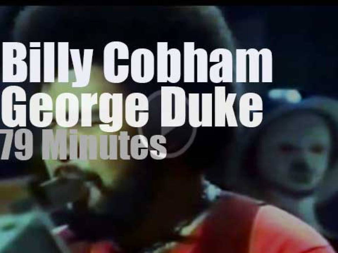 Billy Cobham teams up with George Duke at Montreux Jazz (1976)