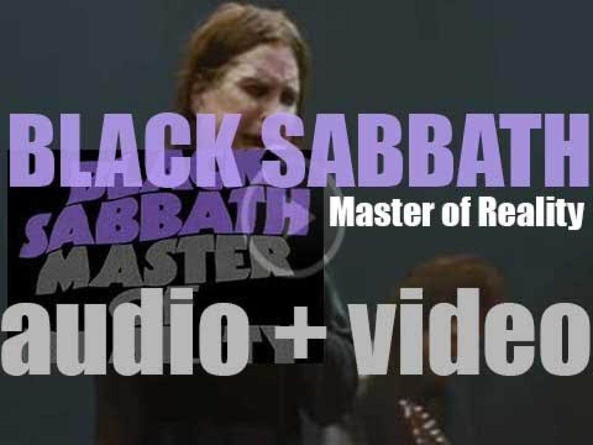 Black Sabbath release their third album : 'Master of Reality' featuring 'Children of the Grave' (1971)