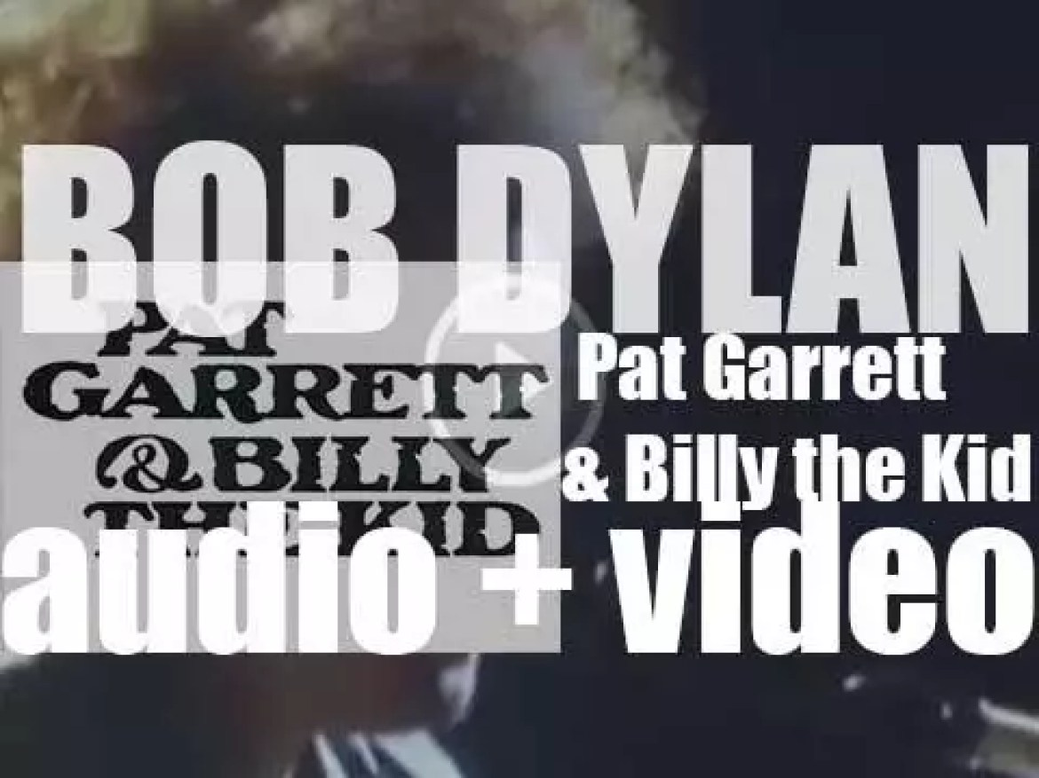 Bob Dylan releases his twelfth album : 'Pat Garrett & Billy the Kid' featuring 'Knockin' On Heaven's Door' (1973)