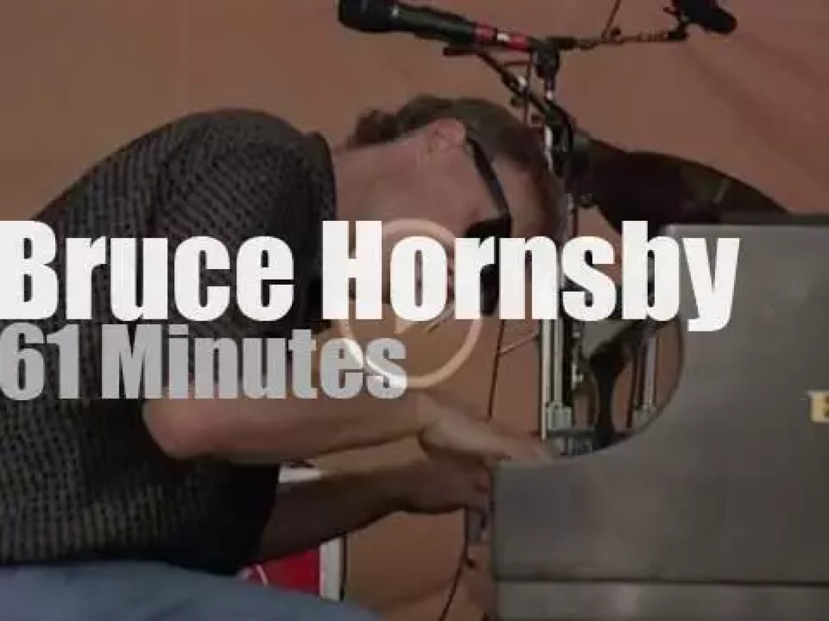Bruce Hornsby  is at Woodstock '99 day 3 (1999)