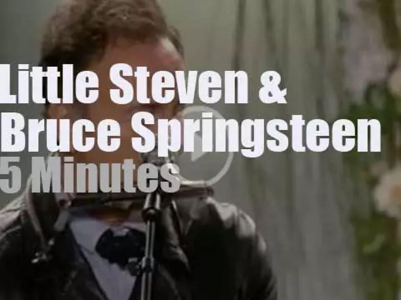 Bruce Springsteen & Little Steven pay tribute in Oslo (2012)