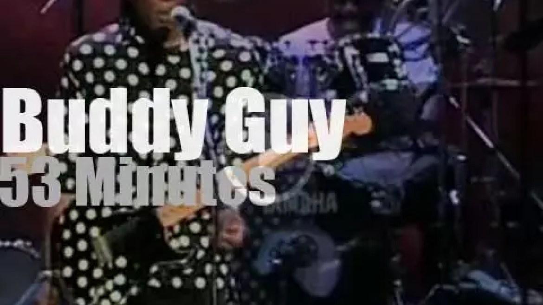 Buddy Guy brings a big band to Montreal Jazz (1997)