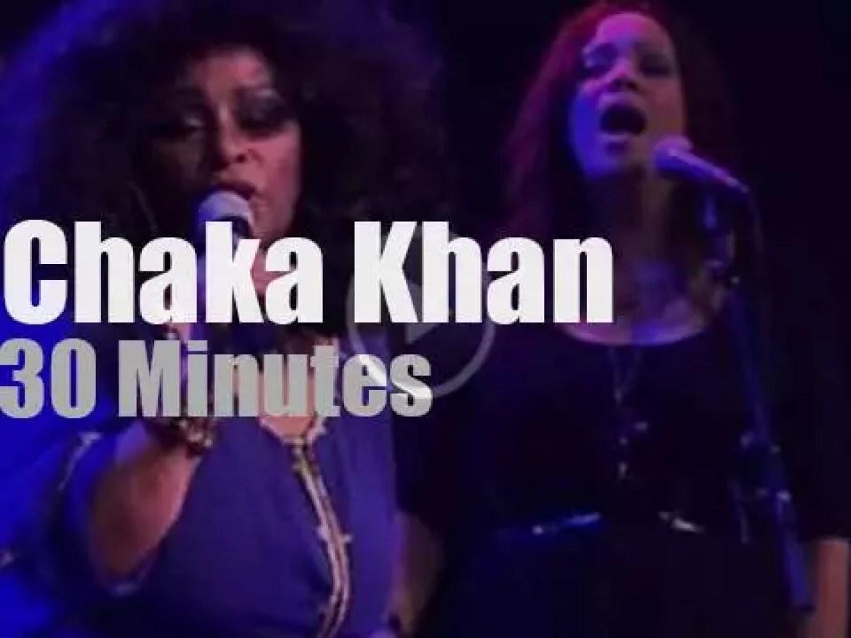 Chaka Khan sings at Noth Sea (2011)