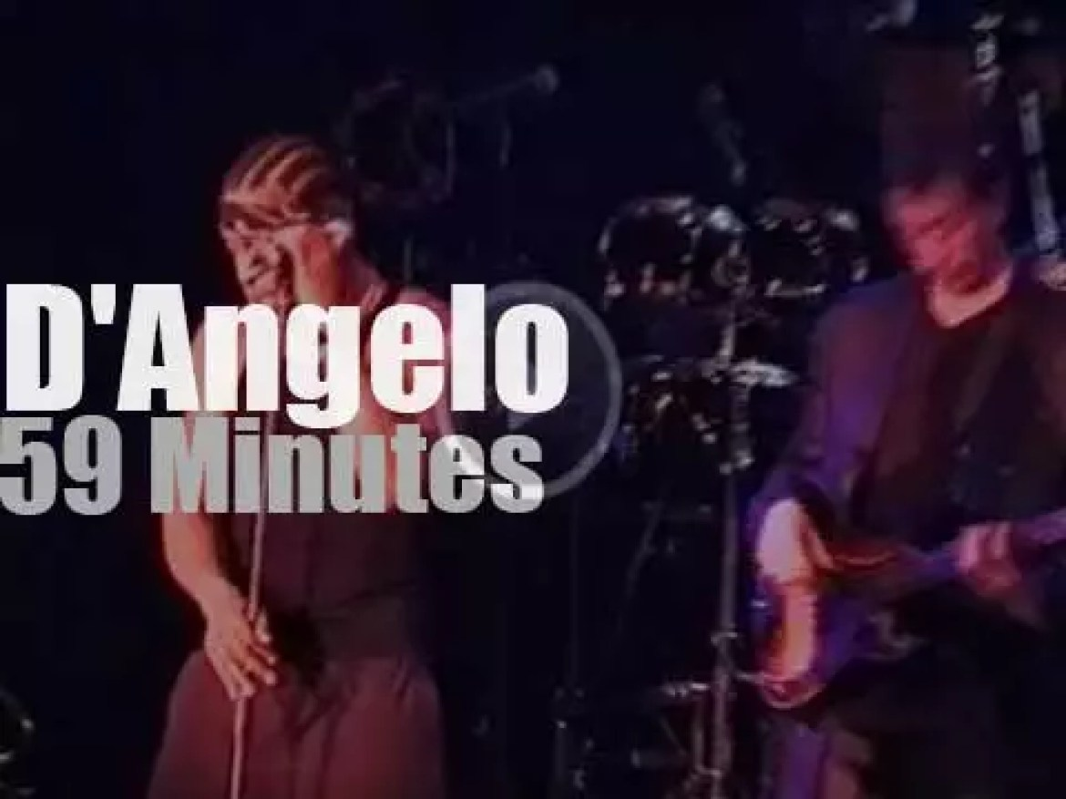 D'Angelo takes The Soultronics to North Sea Jazz (2000)