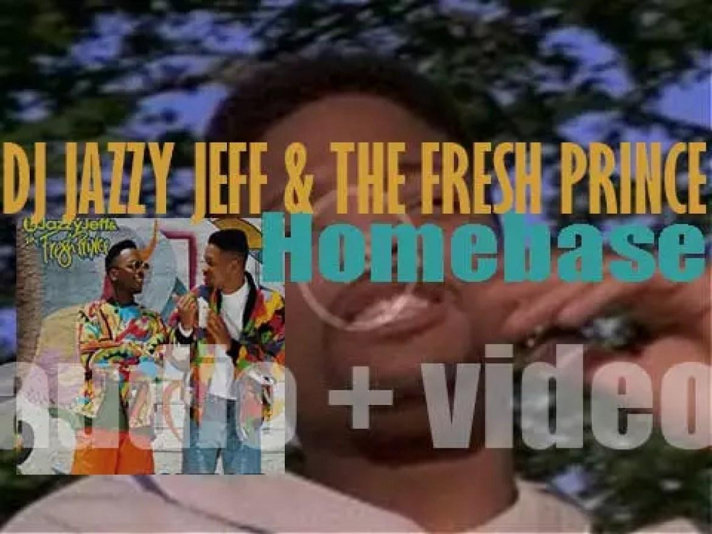 Jive publish 'Homebase' by DJ Jazzy Jeff & Will Smith a.k.a. The Fresh Prince (1991)