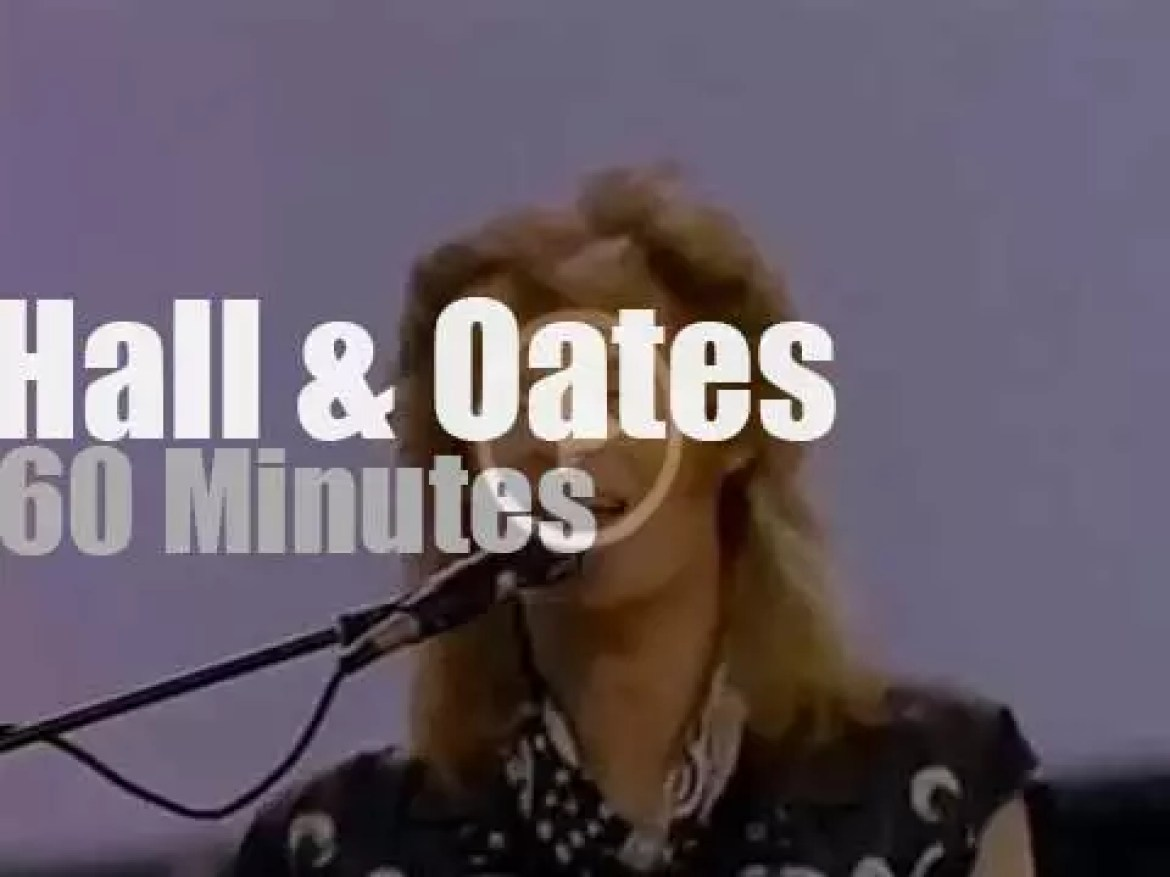 Hall & Oates play for the restoration of the Statue of Liberty (1985)