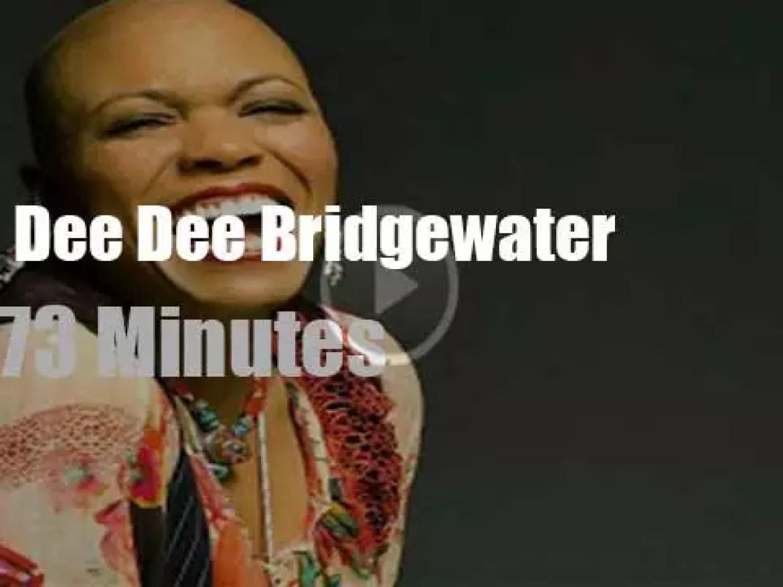 Dee Dee Bridgewater sings in San Sebastian (2014)