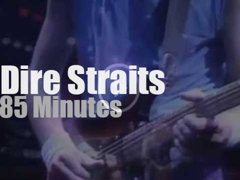 Dire Straits rock Wembley (1985)