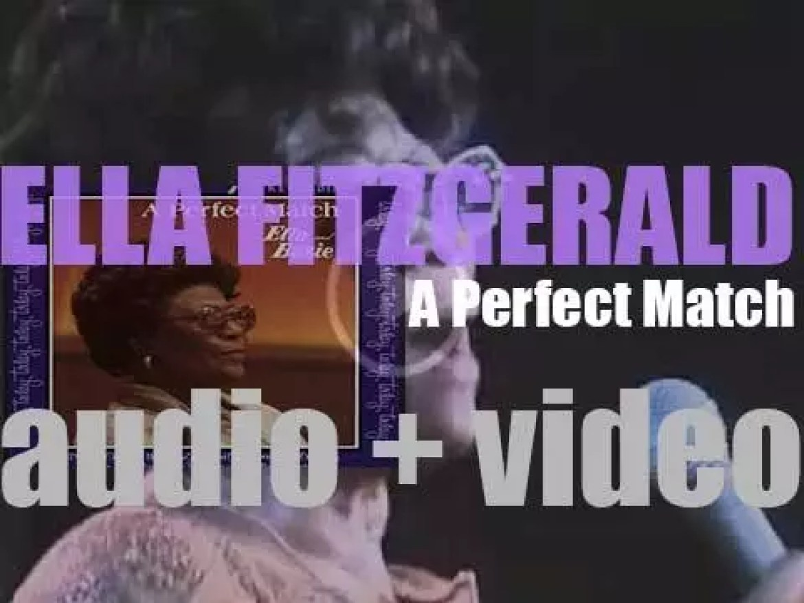 Ella Fitzgerald records 'A Perfect Match' with the Count Basie Orchestra at the Montreux Jazz Festival (1979)