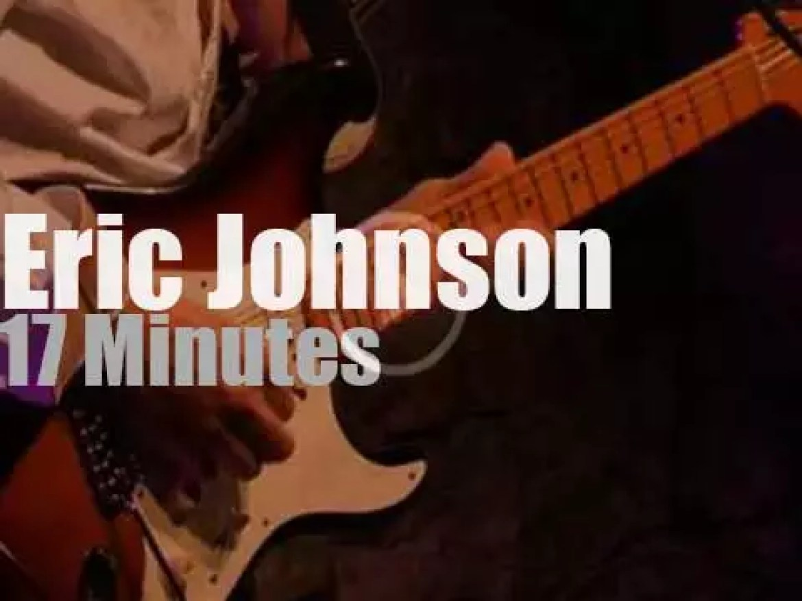 Eric Johnson plays in Italy (2012)