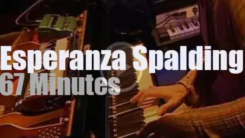 Esperanza Spalding performs in San Sebastian (2009)