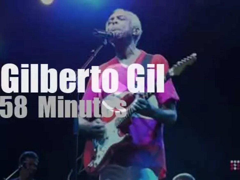 Gilberto Gil closes Umbria Jazz (2013)