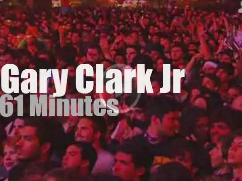Gary Clark Jr attends a Portuguese festival (2013)