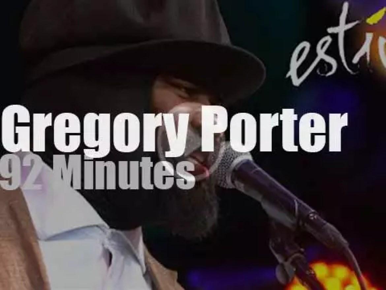 Gregory Porter sings in Lugano (2014)