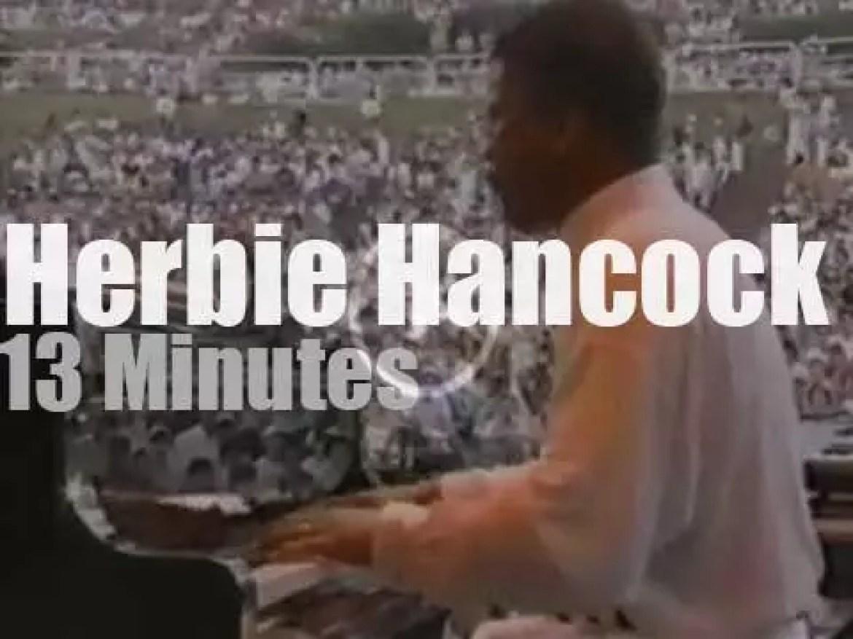"""Herbie Hancock is """"Live Under The Sky"""" (1991)"""