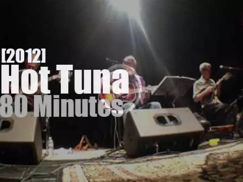 Hot Tuna plays acoustic in Dallas (2012)