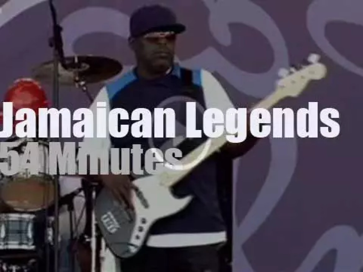 The Jamaican Legends are at Pori Jazz (2012)