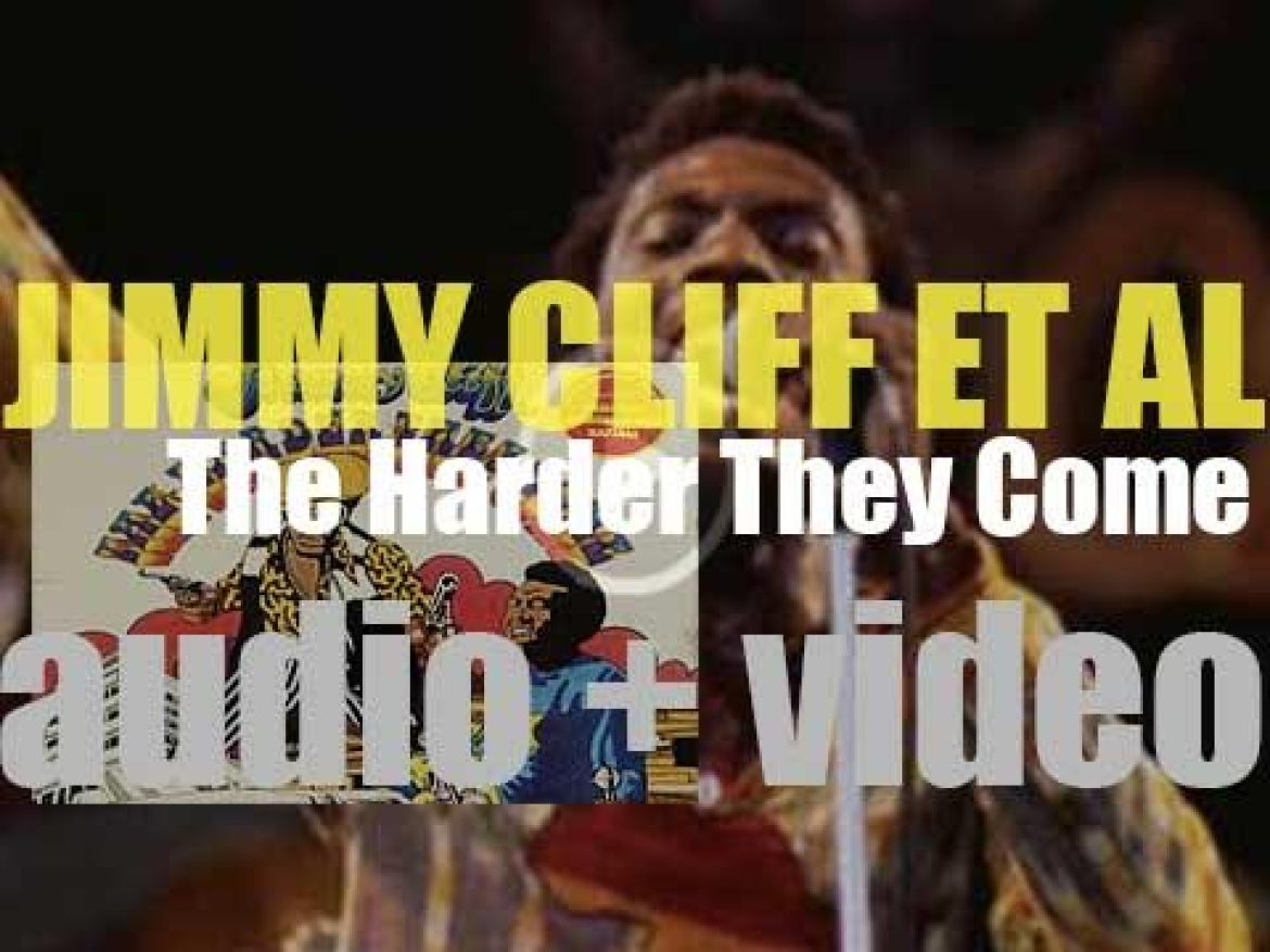 Island release Jimmy Cliff's 'The Harder They Come,' the soundtrack album of the movie of the same name (1972)
