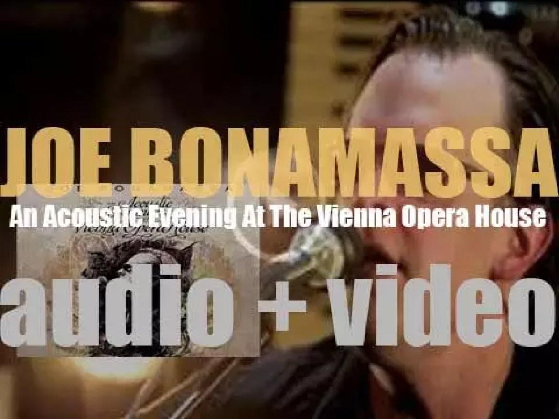 Joe Bonamassa records 'An Acoustic Evening at the Vienna Opera House' (2012)