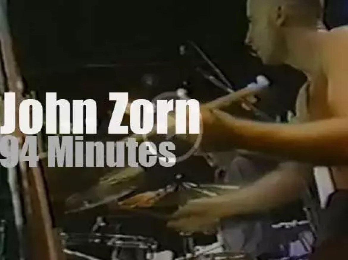 John Zorn takes his Naked City to Montreux (1990)